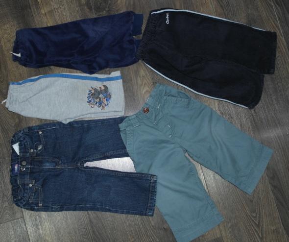 74 86 spodnie dla chłopca