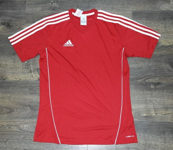 Nowa bluzka Adidas czerwona męska 176