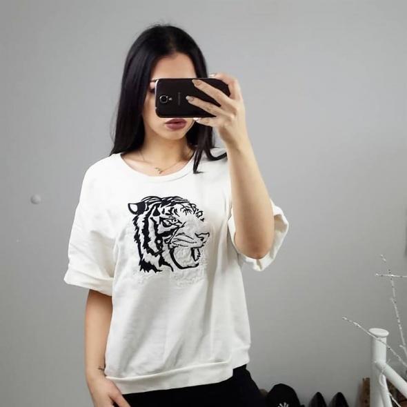 Bluza Zara z tygrysem