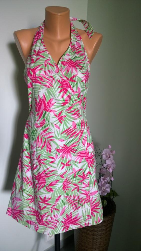 sukienka kopertowa S M