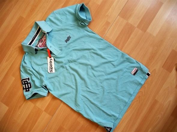 SUPERDRY Cut Collar Pique koszulka polo M nowa