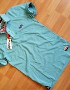 SUPERDRY Cut Collar Pique koszulka polo M nowa...