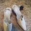 NOWE nieużywane hiszpańskie perłowe ślubne buty ro...