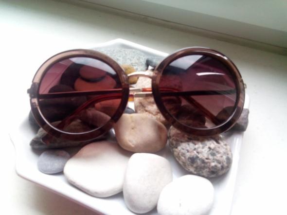LENONKI okulary przeciwsłoneczne okrągłe muchy HIT
