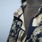 Bluzka koszulowa tunika oversize