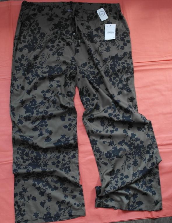 Nowe spodnie letnie brązowe 48 50