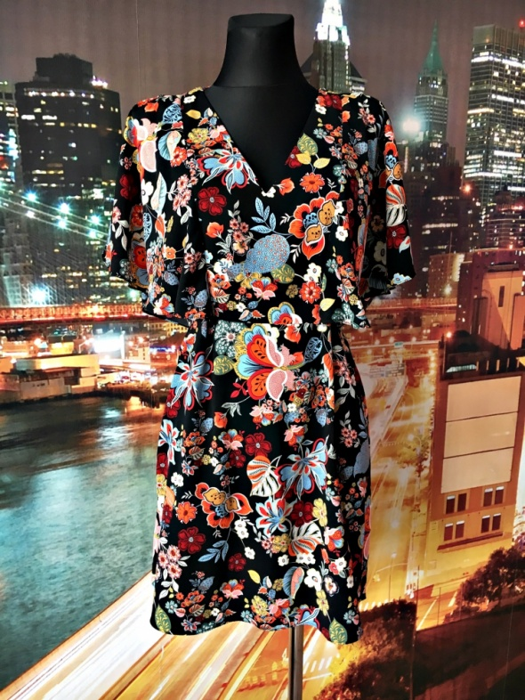 river island sukienka jak nowa kwiaty floral hit blog 36 38...