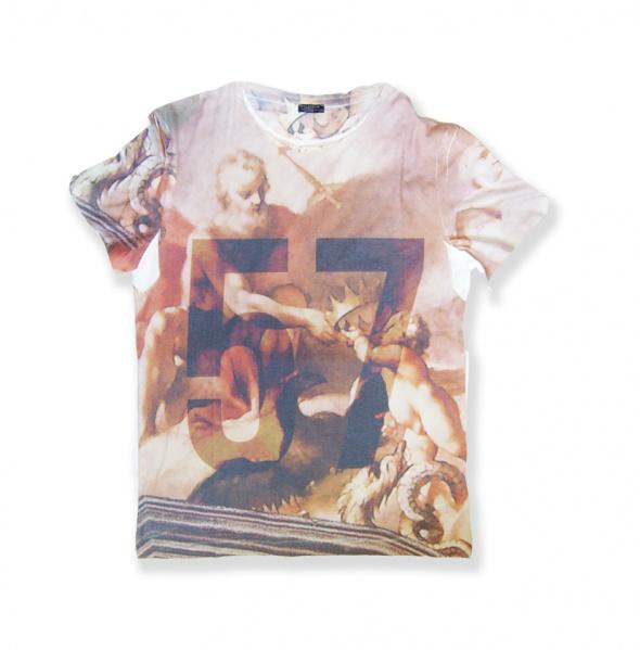 XXLTshirt z nadrukiem