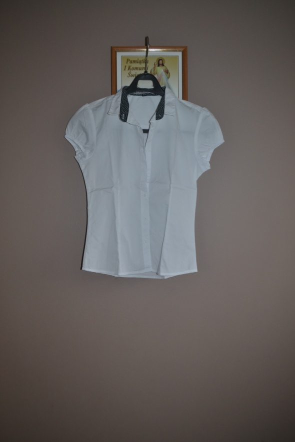 Bluzki Reporter Koszula Nowa biała 140cm 152cm 134cm 8 9 10 lat