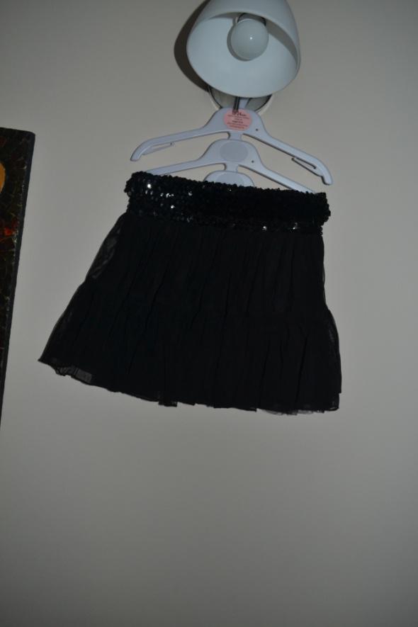 Sukienki i spódniczki Spódniczka czarna galowa 122cm 128cm