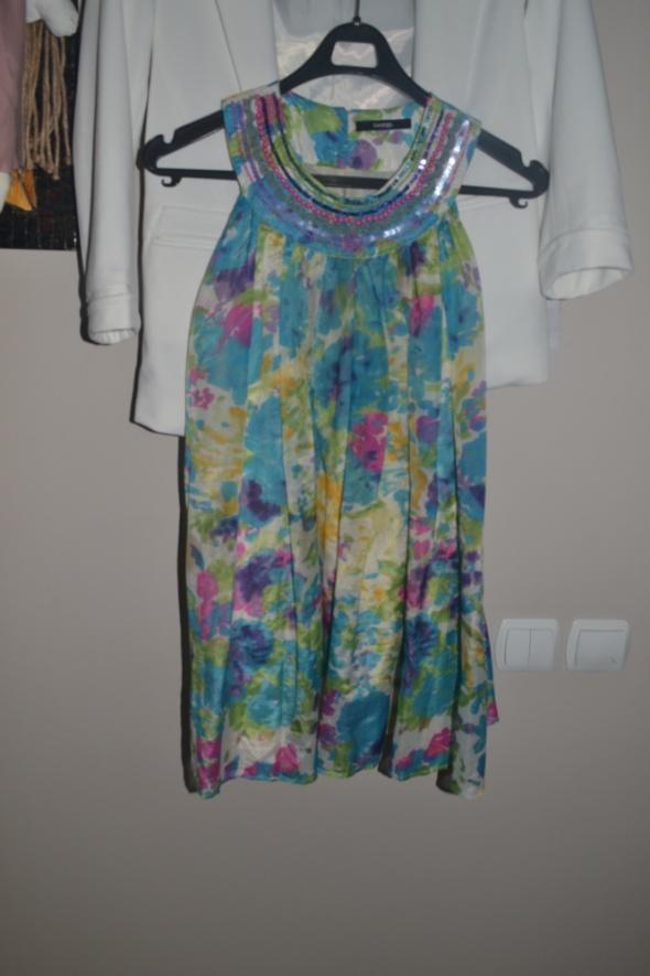 Sukienki i spódniczki Sukienka wesele święta kwiaty George 9 10 lat 134cm 128cm 140cm