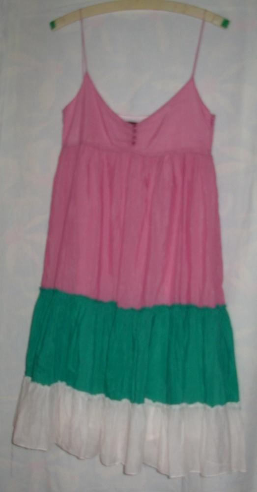 Sukienka Zara bawełna jedwab M