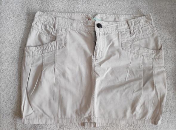 Spódnice Spódniczka Crop M beżowa