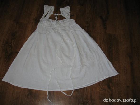 biała tunika rozmiar 38