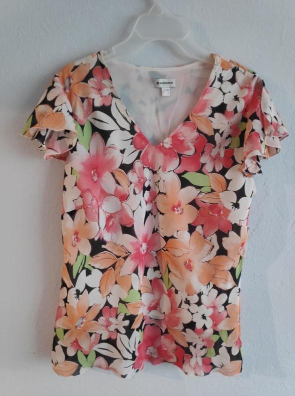 Bluzka Bassini 40 w kwiaty