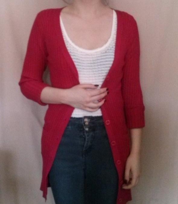 Rozpinany sweter cardigan