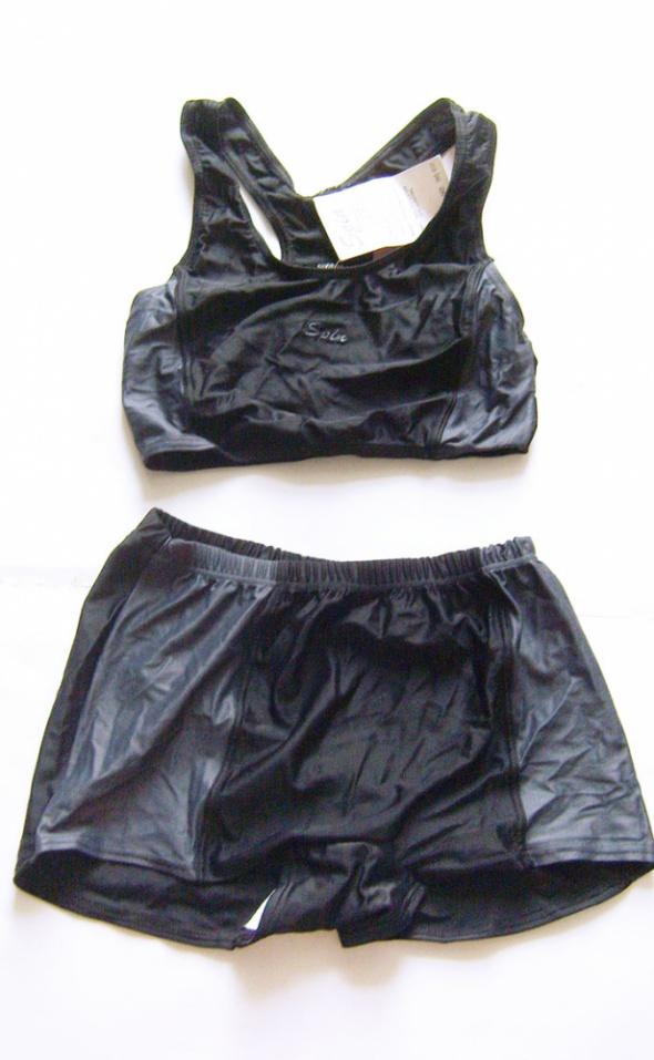 Strój ze spodenkami spodenki i bokserka strój kąpielowy