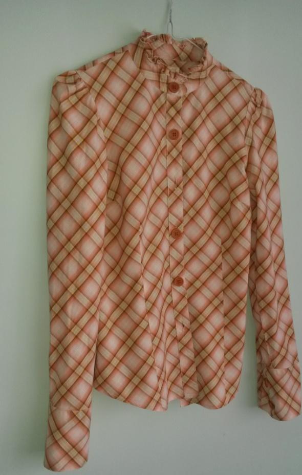 Koszule Koszula BIK BOK w kratę ze stójką S