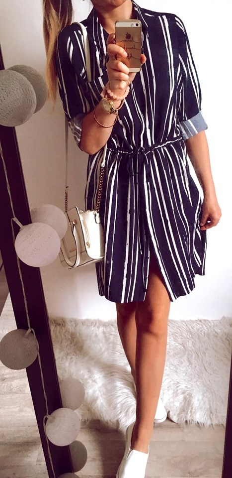 Sukienka Damska w paski rozmiar 44