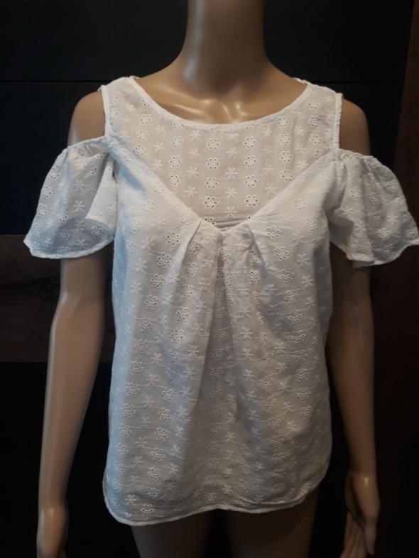 Biała bluzka Top Secret...