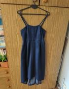 Jeansowa sukienka ciążowa Vila M