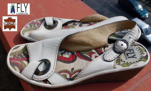 Fly London wygodne skórzane sandały 39