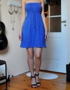 Chabrowa sukienka na lato Reserved 36 S...