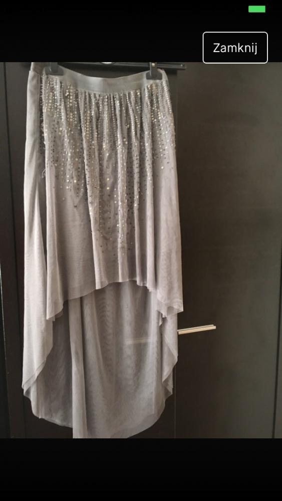 Spódnice szara Spódnica stradivarius cekiny 36 S