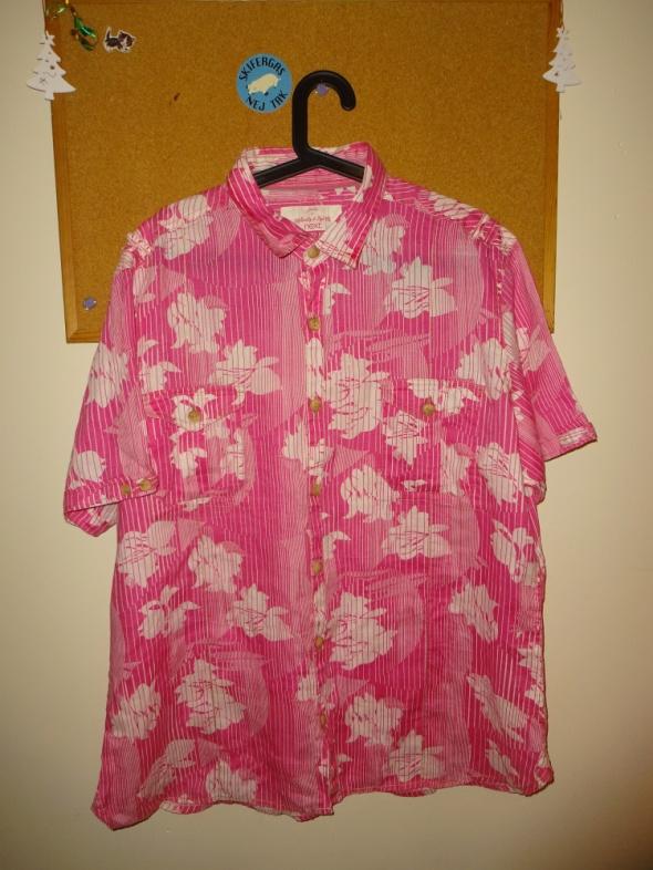 Koszule Hawajska koszula różowa XXL NEXT