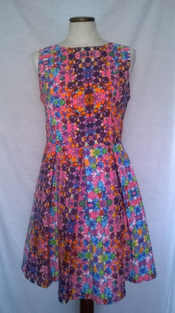 kolorowa sukienka nowa xs s atmosphere