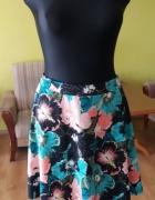Spódniczka floral kwiaty H&M...