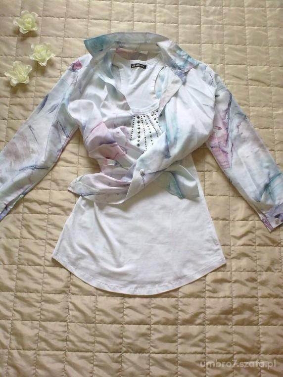 koszula pastelowa