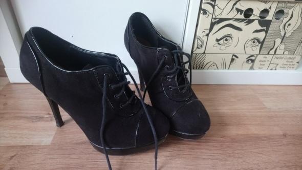 Czarne botki New Look