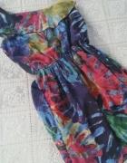 Sukienka Zara na jedno ramie xs s