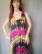 Sukienka indyjska plażowa oversize...