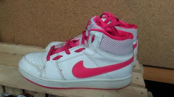 Sneakersy nike 36 białe różowe...