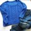 Chabrowy sweterek