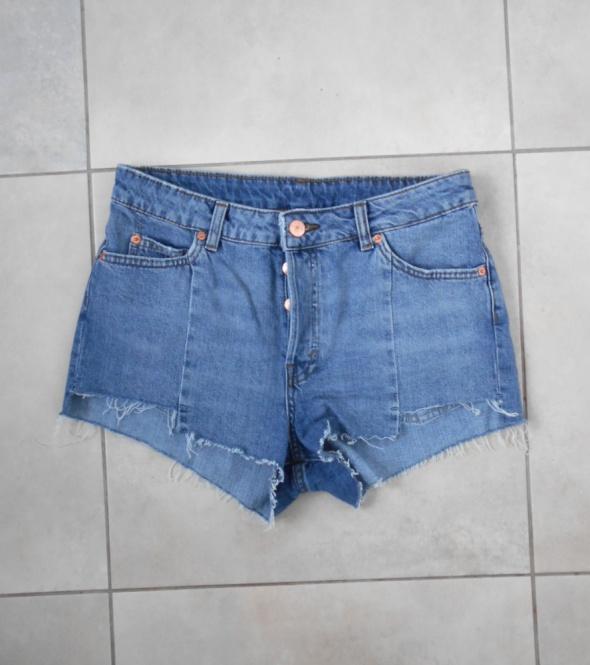 HM szorty jeansowe jeans spodenki...