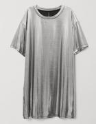 Powlekana sukienka T shirtowa HM...