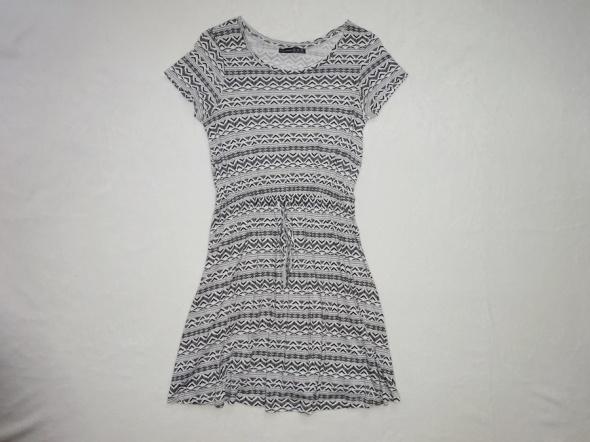 Atmosphere letnia zwiewna sukienka rozkloszowana S...