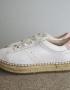 BERSHKA białe buty sportowe CREEPERSY roz 35...