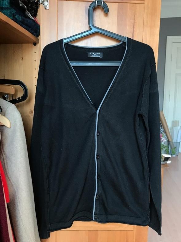 Sweter Kardigan Zara man czarny L...