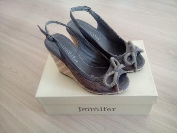 Buty na koturnie Jennifer jennifer r 35