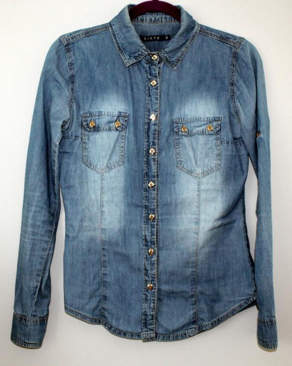 Koszule koszula jeans