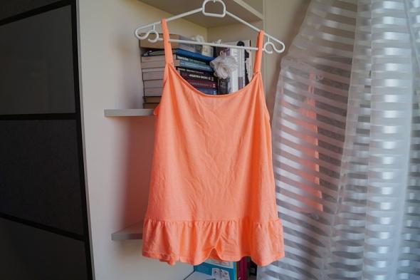 Top Neonowa koszulka na ramiączka Cubus M