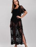 Czarna sukienka plażowa Come Out...