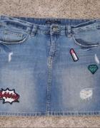 Spódniczka jeansowanaszywki L...
