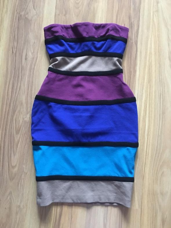 Kolorowa sukienka M river island