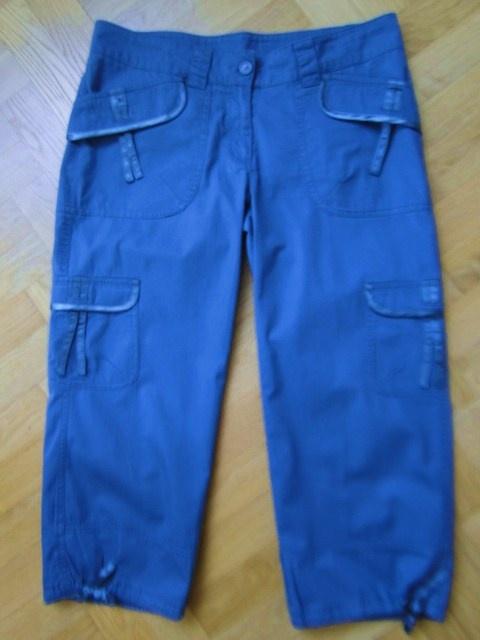 Spodnie rybaczki jak nowe r40 niebieskie