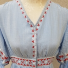 Sukienka w stylu boho etno z lat 70